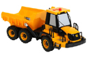 JCB Dumper Truck Toy with lights, sound effects and articulated reverse tipping trailer