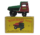 Matchbox Dumper Muir Hill No 2